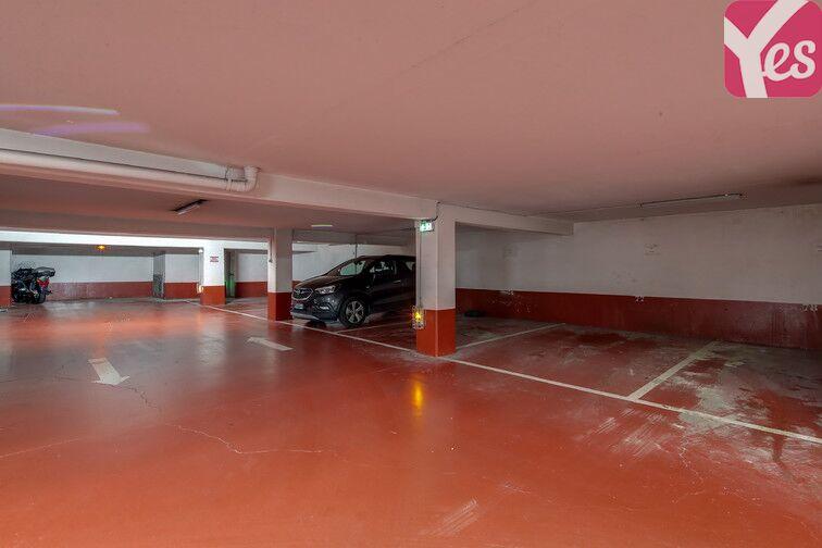 Parking Cité de la Musique garage