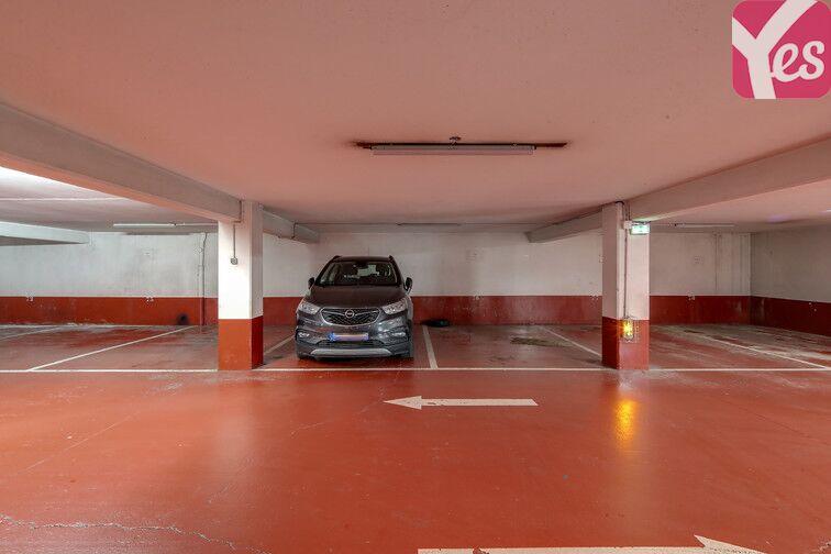 Parking Cité de la Musique sécurisé