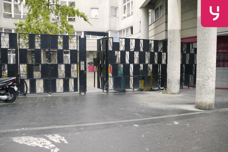 Parking Flandre - Riquet - Paris 19 sécurisé