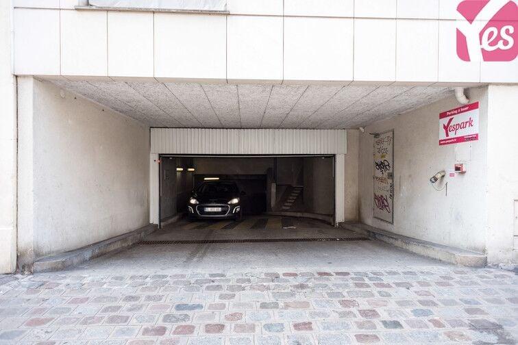 Parking Université Paris 3 - Sorbonne Nouvelle caméra