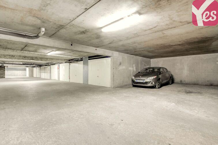 Parking Louise Dory - Romainville caméra