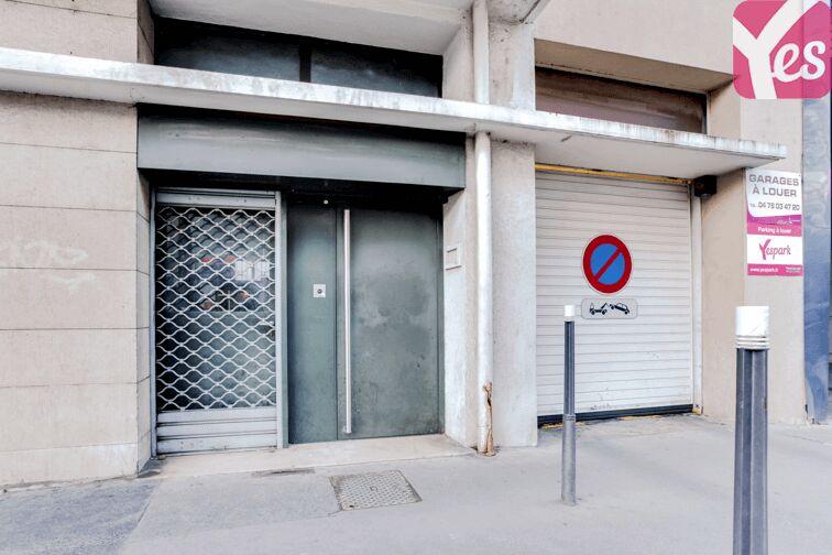 Parking Tonkin Sud - Villeurbanne location mensuelle