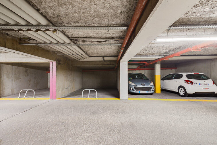 Parking Gratte ciel - Villeurbanne caméra