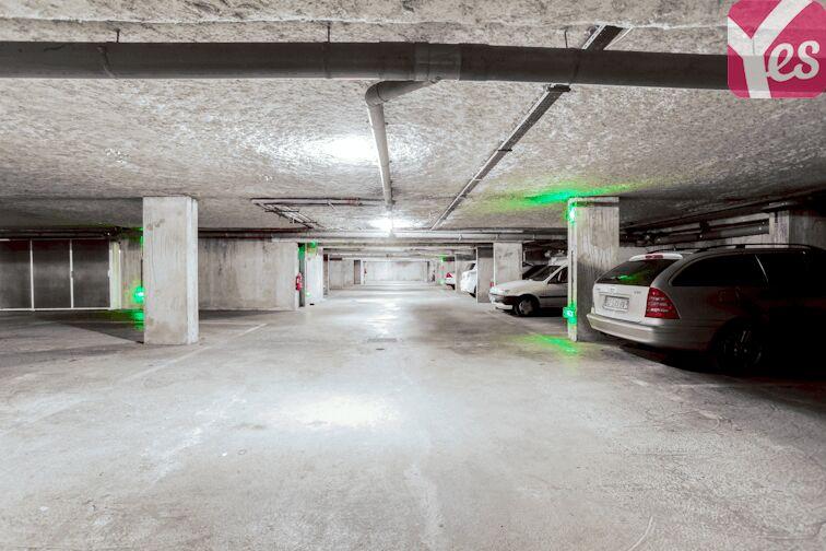 Parking Les Poulettes - Villeurbanne caméra