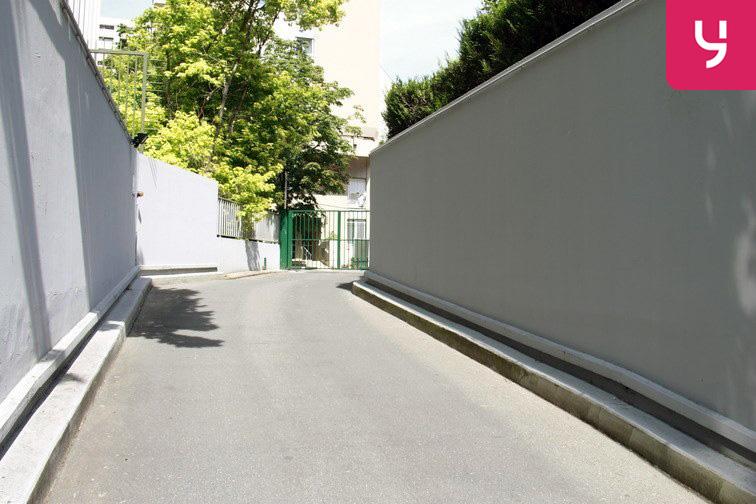 Parking Porte de Champerret caméra