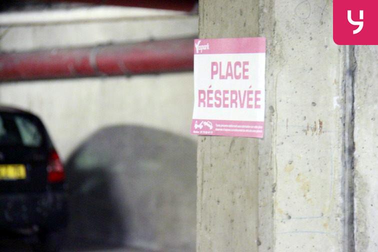 Parking Porte de Champerret en location