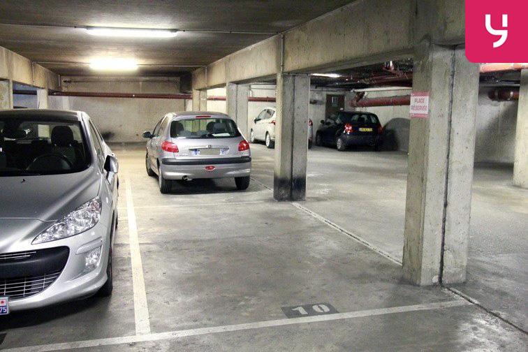 Parking Porte de Champerret sécurisé