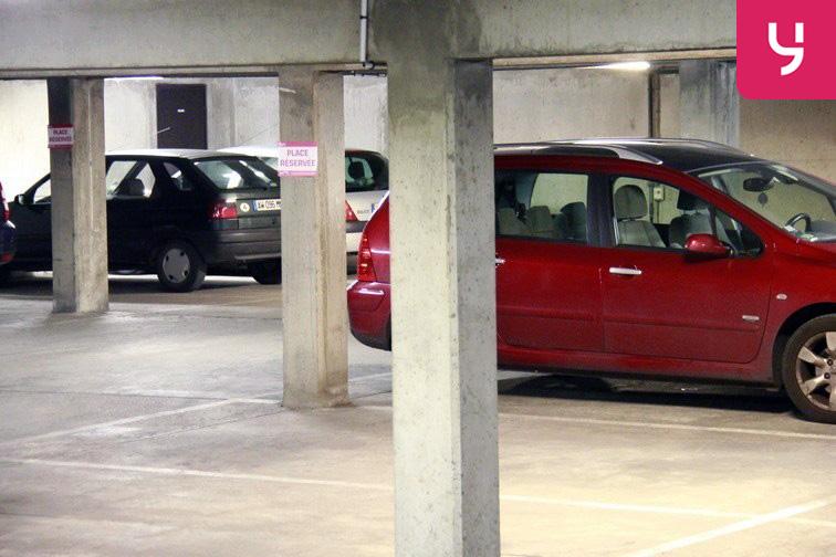 Parking Porte de Champerret avis