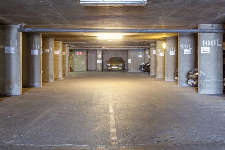 Parking Cimetière de la Guillotière Ancien - Lyon 7 souterrain