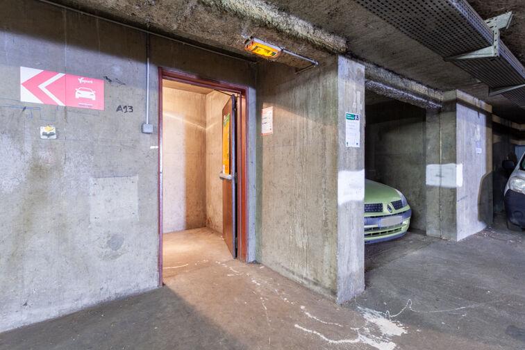 Parking Cimetière de la Guillotière Ancien - Lyon 7 caméra