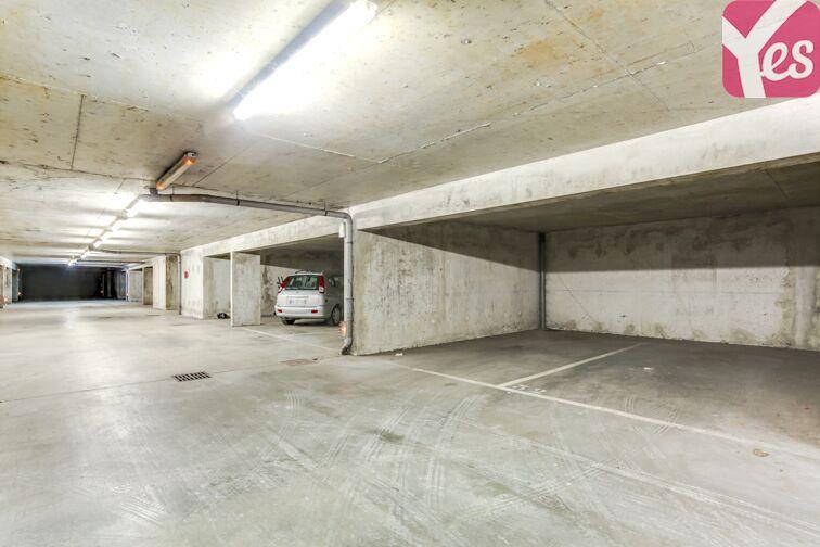 Parking Parc des Hautefeuilles - Tassin-la-Demi-Lune sécurisé