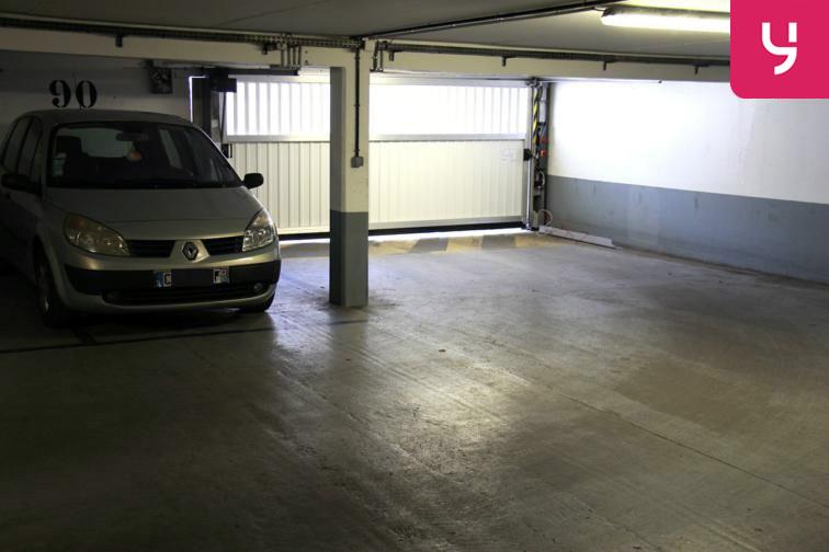 Parking Carrefour Pleyel souterrain