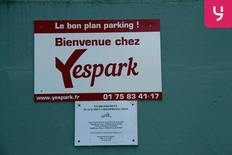 Parking Carrefour Pleyel gardien