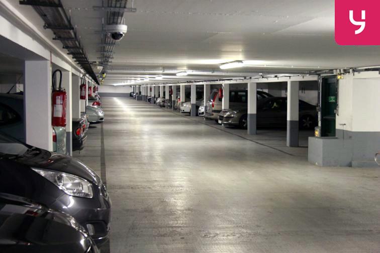 Parking propre et en bon état