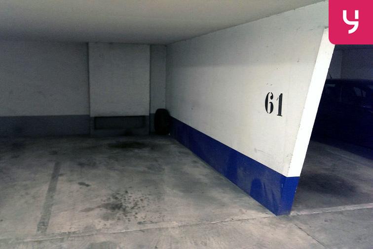Parking Porte de Clignancourt - Joliot Curie location mensuelle