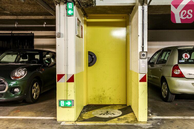 Parking Kleber caméra