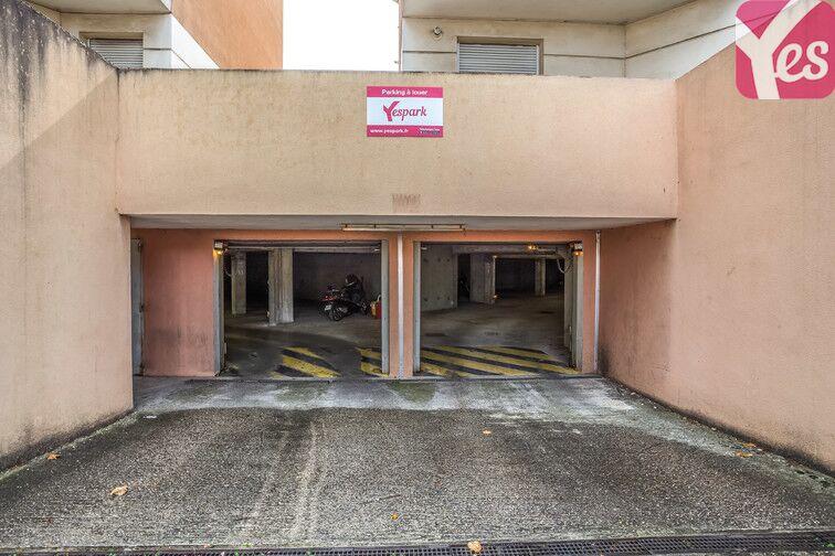 Parking Mairie de Chassieu sécurisé