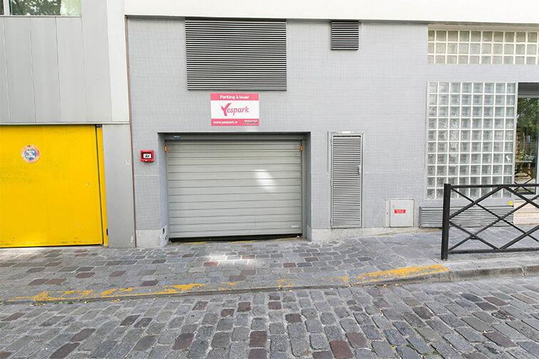 Parking Departement - Marx Dormoy (gauche) 5 bis Cité de la Chapelle