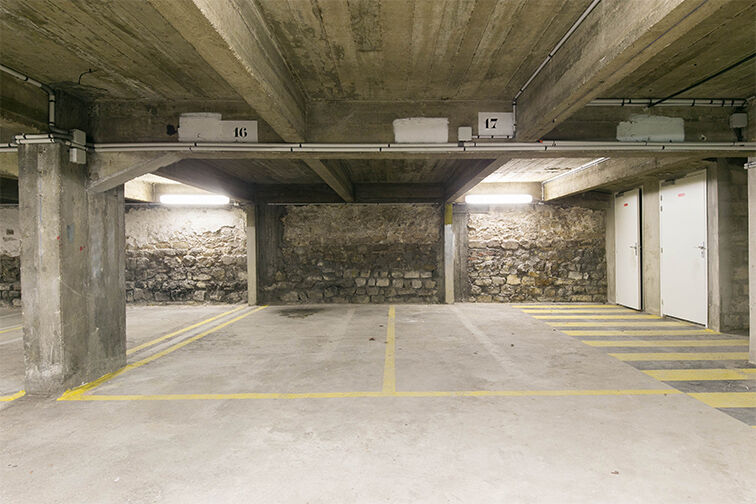 Parking Departement - Marx Dormoy (gauche) gardien