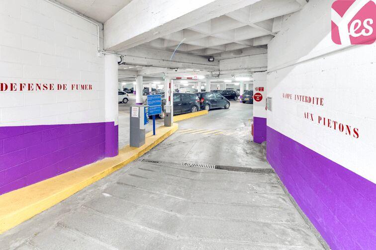 Parking Jardin des Plantes sécurisé