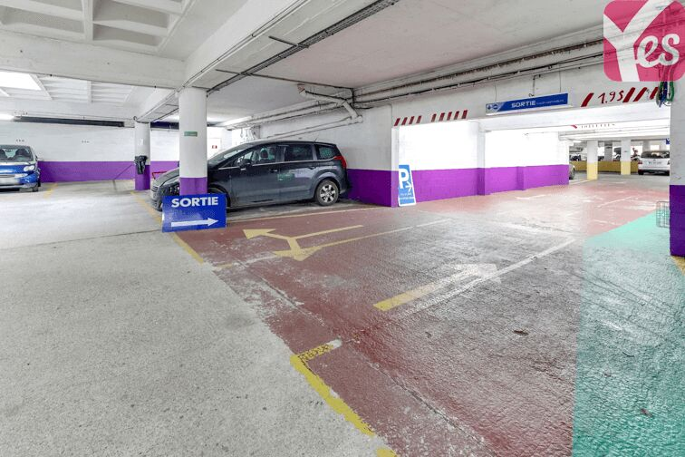 Parking Jardin des Plantes garage