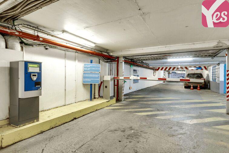 Parking Métra - Pixérécourt garage
