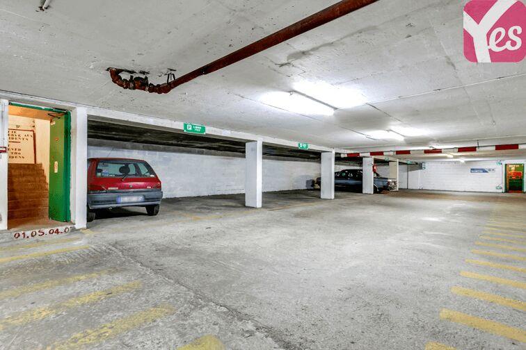 Parking Métra - Pixérécourt caméra