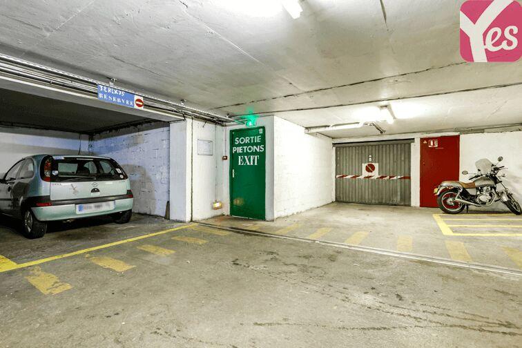 Parking Métra - Pixérécourt sécurisé