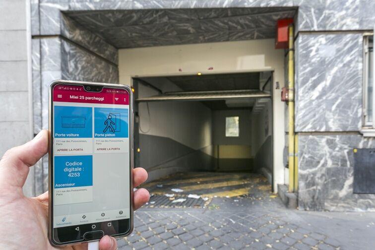 Parking Poissonniers location
