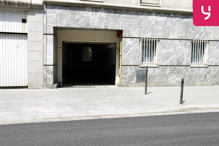 Parking Poissonniers location mensuelle