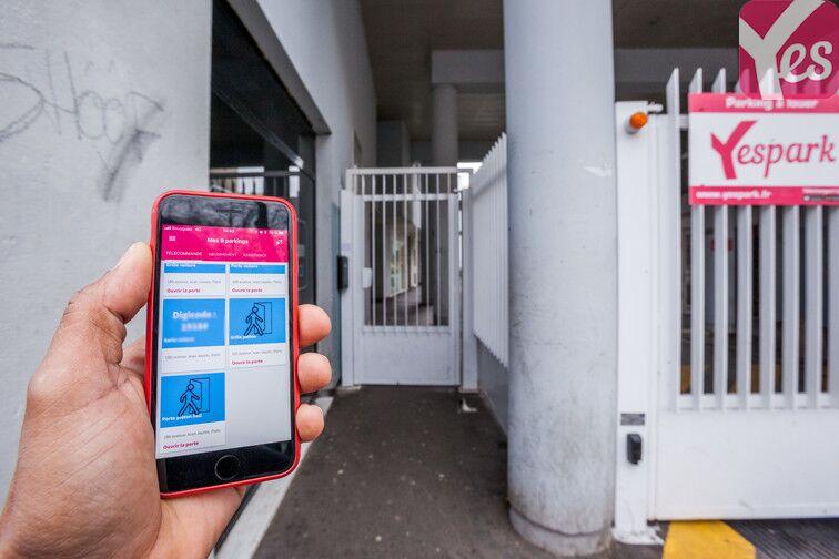 Parking Porte de Pantin - Jaures sécurisé