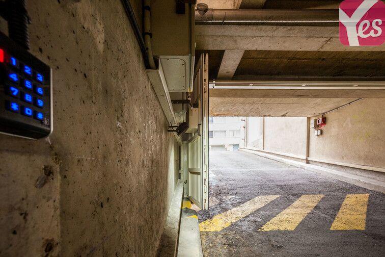 Parking Porte de Pantin - Jaures caméra