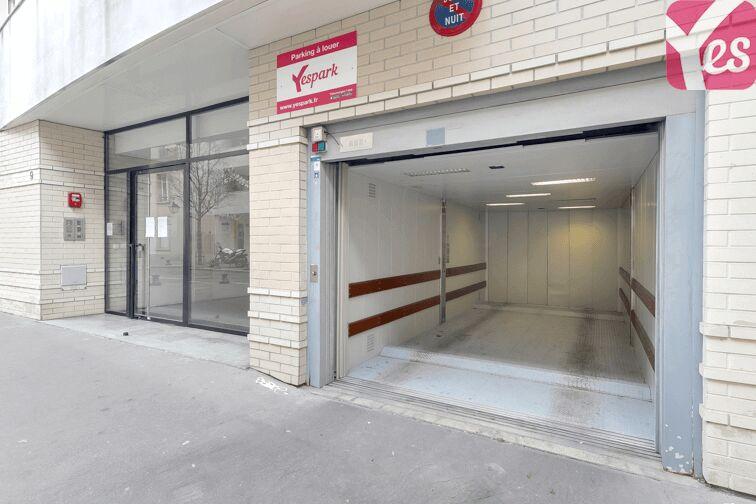 Parking Place d'Italie - Paris 13 garage