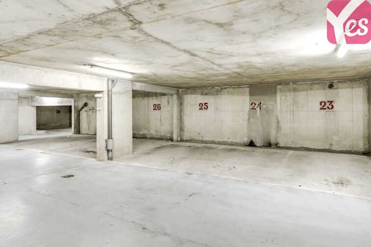Parking Les Haies - Buzenval souterrain