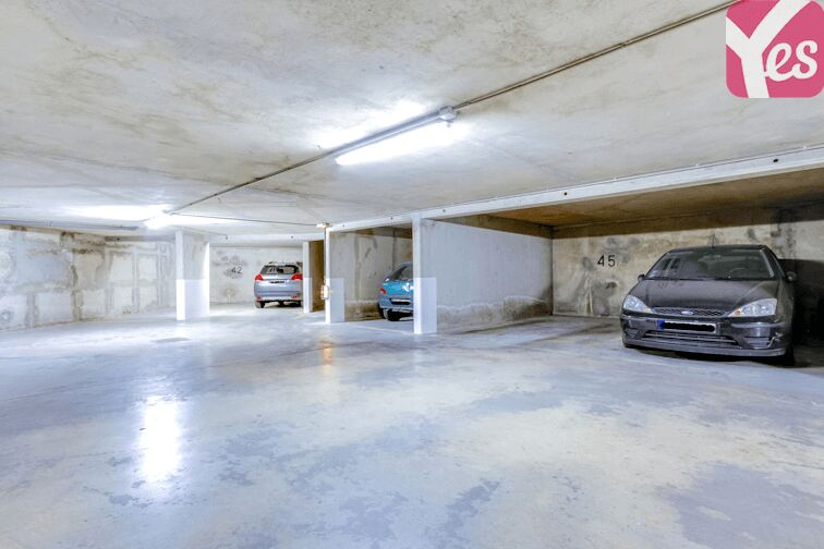 Parking Commissariat Paris 19 - Ourcq souterrain