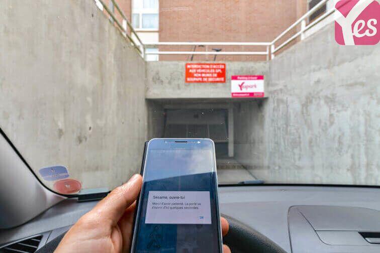 Parking Place Carnot - Douai location mensuelle