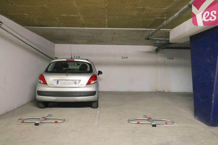 Parking Centre Hospitalier Marc Jacquet - Melun 12 rue Crevoulin