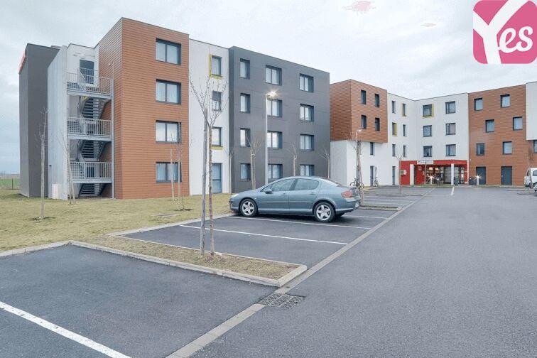 Parking Appart'city Strasbourg Aéroport Entzheim Est souterrain
