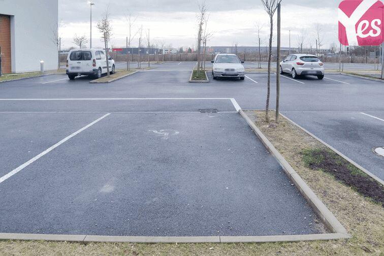 Parking Appart'city Strasbourg Aéroport Entzheim Est pas cher