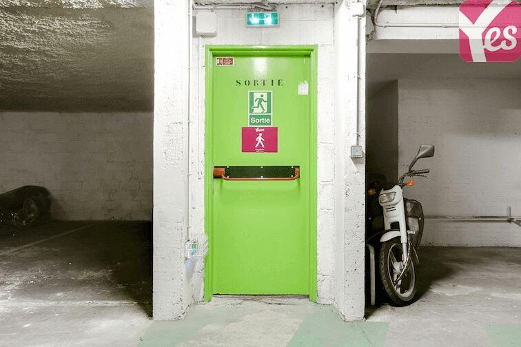 Parking Sainte-Anne - Paris 14 caméra