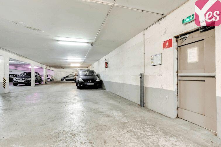Parking Porte d'Asnières - Paris 17 location mensuelle