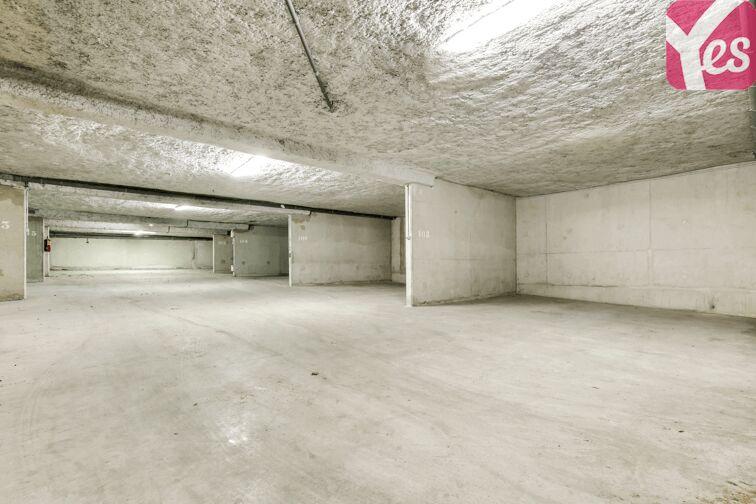 Parking souterrain et lumineux
