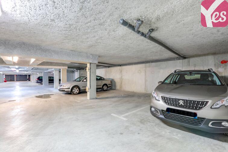 Parking Les Pradettes sécurisé