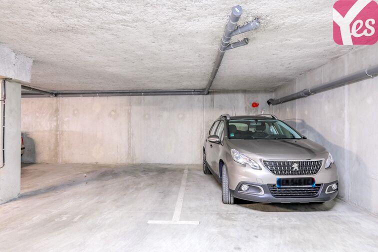 Parking Les Pradettes caméra