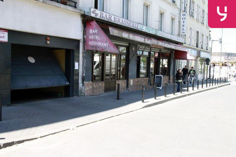 Parking Saint-Ouen - RER gardien