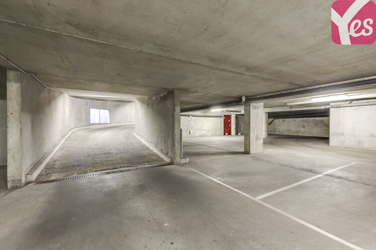 Parking Croix Saint-Marceau Orléans