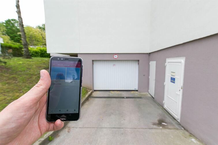 Entrez dans le parking grâce à l'application Yespark