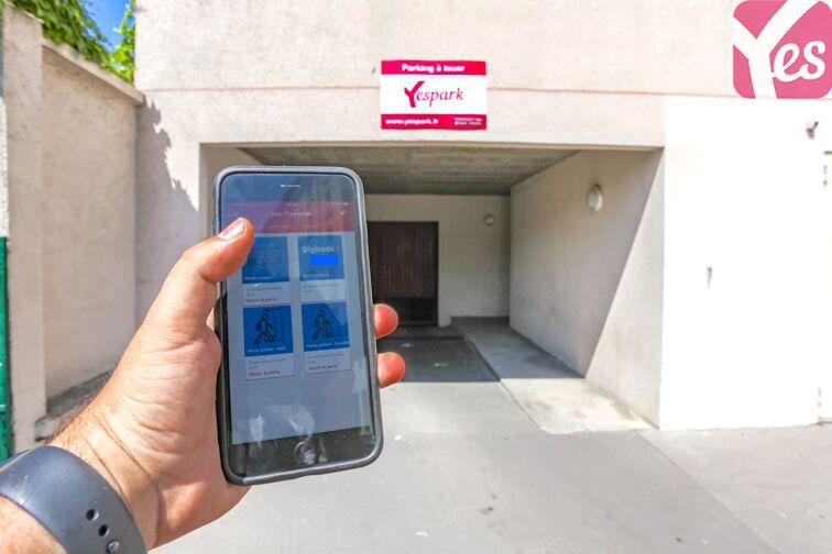 Ouvrez la porte voiture avec votre application Yespark