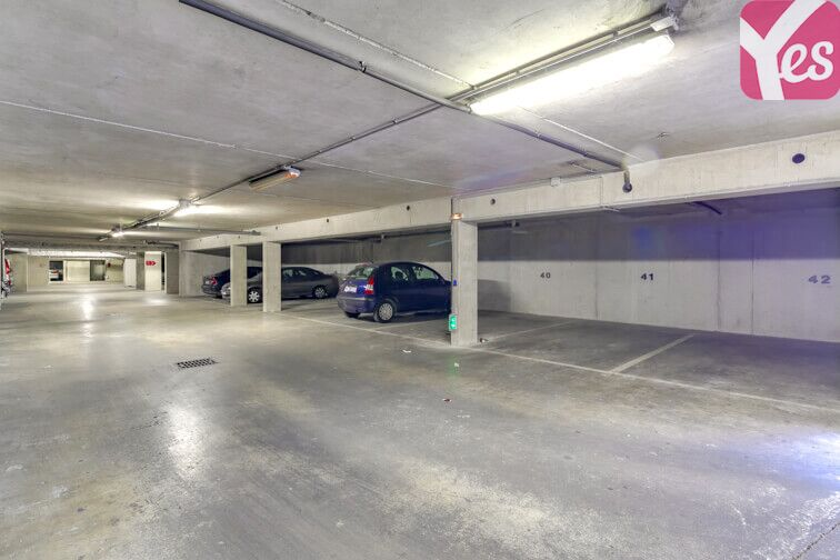 Parking Montjoies - Saint-Denis gardien