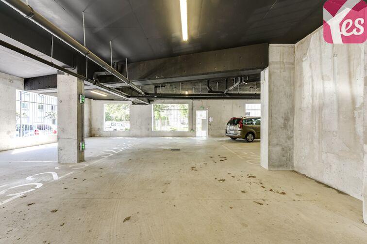 Parking Croix Bonneau - Nantes caméra